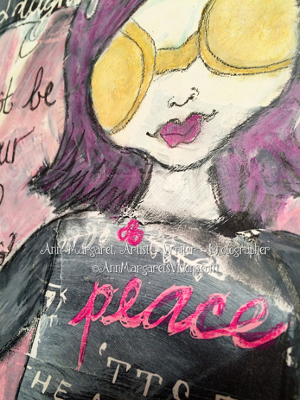 peace-girl-art-mixed-media-sunglasses